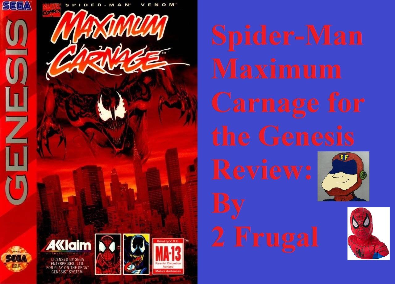 2 Frugal Spider Man Maximum Carnage Genesis Review